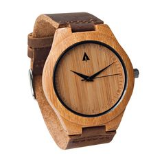 Wooden Watch // Frank from Tree Hut Design