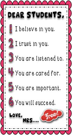 FREE resource from Ricekristi's Treats! This page is a quick reminder for your students of what their grade means. Post it in your classroom and/or send it h 2nd Grade Classroom, Classroom Community, Classroom Posters, School Classroom, Classroom Decor, Classroom Behavior Management, Classroom Organisation, Teacher Tools, Teacher Hacks