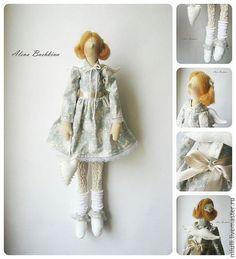 Куклы Тильды ручной работы. Ярмарка Мастеров - ручная работа. Купить Тильда Мэгги. Handmade. Тильда, кукла Тильда, Рыжая