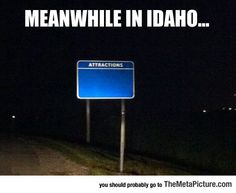 Idaho's Main Attractions