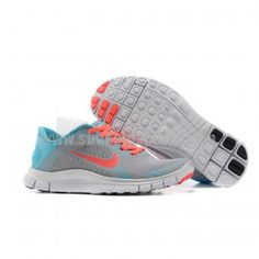 huge discount 4a381 f5472 Womens Free 4.0 V3 Grey Pink Nike Shoes For Sale, Nike Shoes Outlet,