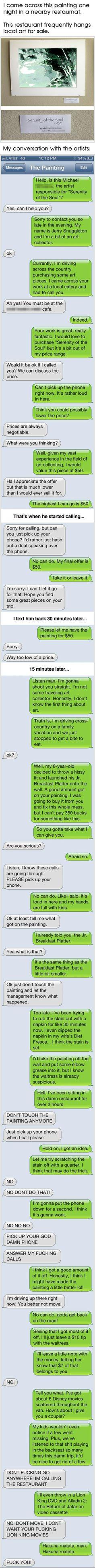 lol!!!   dont post ur phone number!