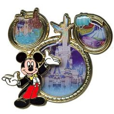 Your WDW Store - Disney Mickey Mouse Icon Pin - Magic Kingdom Park