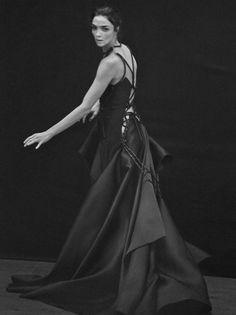 Mariacarla Boscono by Peter Lindbergh for Vogue Italia March 2016 11