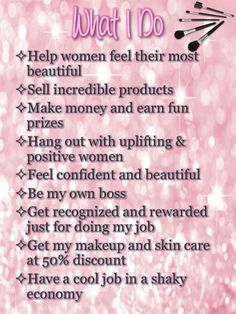 Please share with anyone you think would want to join me.  516-220-8865  or www.marykay.com/bstern1