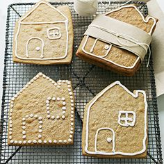 Gingerbread House gifts...love this!