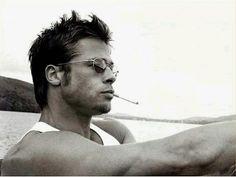 Brad Pitt: Fight Club, Legends of the Fall, 12 Monkeys, A River Runs… Brad Pitt Hair, Brad Pitt Troy, Jennifer Aniston, Angelina Jolie, Elizabeth Hurley, Fight Club, Brad Pitt Biography, Bradd Pitt, Gorgeous Men