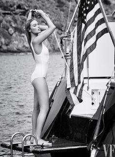 Margot Robbie for Vanity Fair August 2016. Photo by Patrick Demarchelier.