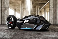 It's just a concept. But what a concept it is. Designed with runs at the land speed record in mind, this BMW Titan Motorcycle Concept is an angular, air-swallowing ode to speeders of old. It was created by Turkey-based designer...