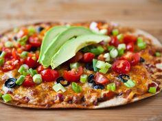 Mexican Flatbread Pizzas