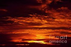 Fire on Sky by Miryam UrZa