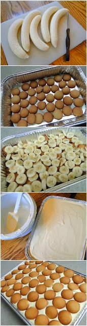Not Yo Mama's Banana Pudding                        Ingredients:   2 bags Pepperidge Farm Chessmen Cookies OR 2 bags Vanilla Wafers 6 to 8 bananas, sliced 2 cups milk 1 (5 oz.) box French Vanilla pudding 1 (8 oz.) package cream cheese 1 (14 oz.) can sweetened condensed milk 1 (12 oz.) container frozen whipped topping thawed, or equal amount sweetened whipped cream              Directions  Line the bottom of a 13x9 inch inch dish with 1 bag of cookies and layer bananas on top. In a bowl…