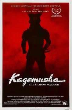 A petty thief with an utter resemblance to a samurai warlord is hired as the lord's double. When the warlord later dies the thief is forced to take up arms in his place. (180 mins.) Director: Akira Kurosawa Stars: Tatsuya Nakadai, Tsutomu Yamazaki, Ken'ichi Hagiwara, Jinpachi Nezu