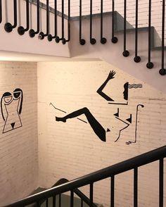Chicas en la escalera #SohoHouse