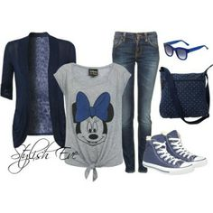 I would do wear this to Disneyland :)
