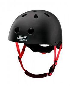 UrbanWinner-cykelhjelm-Black-Rubber
