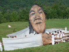 Bread and Puppet Theater, Vermont.