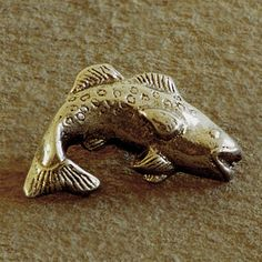 metal drawer pulls fish facing left dp012 four piece set by te ma