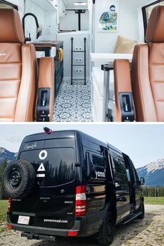 Camper Van Pictures That Will Inspire You To Create Your Own Tiny Home – House Topics - Creative Van Lifes Motorhome Interior, Van Interior, Bus Living, Truck Living, Minivan Camping, Day Van, Van Home, Sprinter Camper, Vanz