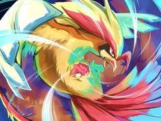 Fan Art Pokemon, Pokemon Oc, First Pokemon, Cool Pokemon, Pokemon Stuff, Pokemon Pidgeot, Pokemon Especial, Flying Type Pokemon, Type Pokemon
