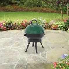 "Backyard Grill 14.5"" Round Portable Charcoal Grill - Walmart.com"
