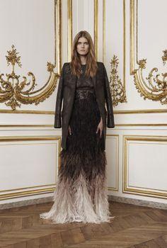 Malgosia Bela au défilé Givenchy haute couture automne-hiver 2010-2011