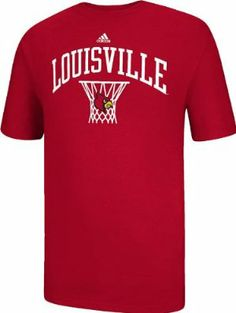 adidas Louisville Cardinals Red Courtside Basketball Short Sleeve T-Shirt  by adidas.  21.99. 568b736a5