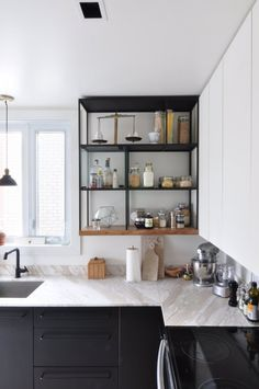 Violaine & Gaetan's DIY Design in Montreal — House Tour   Apartment Therapy