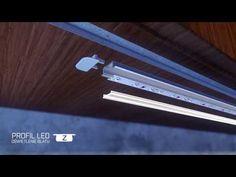 Typ Z - Montaż meblowego profilu aluminiowego do LED marki LUMINES - YouTube