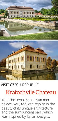 Kratochvile Chateau in the Czech Republic - Tour the Renaissance summer palace where famous members of the Rozmberk family! European Destination, European Travel, Travel Tips For Europe, Travel Destinations, Travel Pictures, Cool Pictures, Prague Travel, Summer Palace, Countries To Visit
