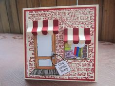 Art Impressions Stamps: Another great shoppe window. Scrap and Stamp Shoppe (Sku#3528)