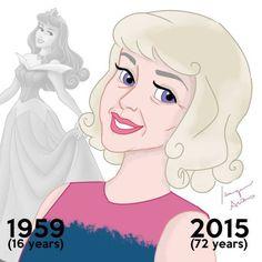 #princesas #disney #desenho #aurora