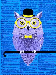 'The Gentlemanly Owl' by Mr. Pickwicks