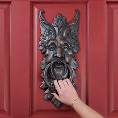 Greenman Doorknocker