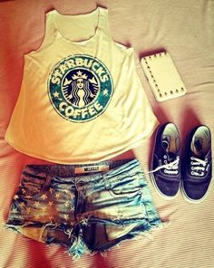 Starbucks tank