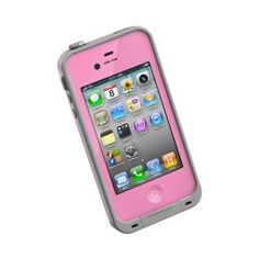 Pink iPhone 4 Lifeproof Case $69.95 --- LOVE IT! -Sarah