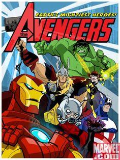 Director: Frank Paur, Ciro Nieli   Reparto: Animation   Género: Serie de TV   Sinopsis: Serie de TV (2010-2012). Un grupo de superhéroes formado por Iron Man, Hulk, el Capitán América, Thor, Giant Man y Wasp, deben enfrentarse a todo tipo de supervillanos viajando a través del ...