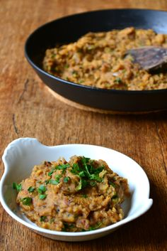 Fragrant Red Lentil Dhal. I would die for dhal.