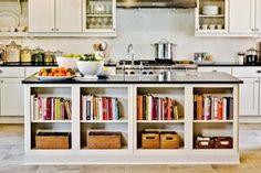 Kochinsel mit Ikea Kallax Regalen ausstatten