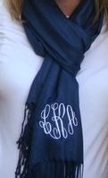 Monogram scarf, I HAVE to have one!!(: