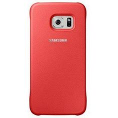 Чехол для смартфона Samsung Galaxy S6 SM-G920F коралловый (EF-YG920BPEGRU) (EF-YG920BPEGRU)  — 1919 руб. —  Для Samsung Galaxy S6/S6 Duos. Красный. Полиуретан.