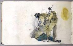 Jorge Gonzalez, Manga, Crime, Walls, Painting, Illustrations, Sketchbooks, Drawings, Comics