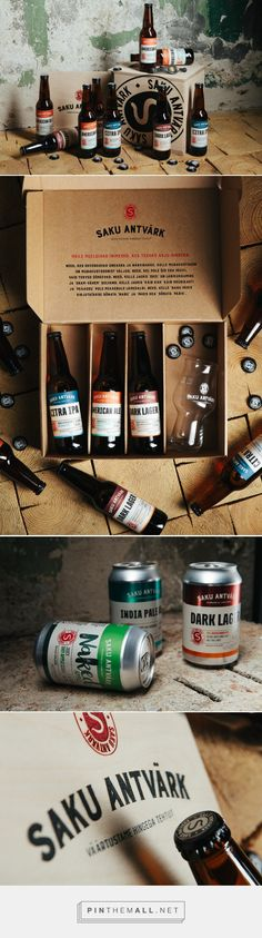 Saku Antvärk — The Dieline - Branding & Packaging... - a grouped images picture - Pin Them All