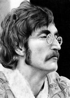 John Lennon 1967 by Sabdi on DeviantArt