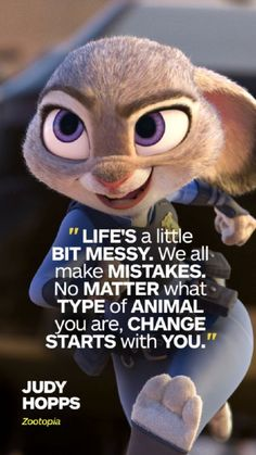 5 Life Lessons from Zootopia