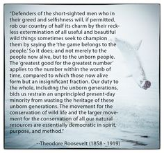 Theodore Roosevelt - thank you