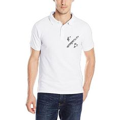 Jessicagf1990s Flute Clipart Men's Short-Sleeve Jersey Polo -- Check this awesome product by going to the link at the image. (This is an affiliate link) #PoloTShirt