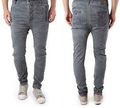 ABSOLUT JOY Herren  Stylische CHINO Jeans Hose Grau Coloured   S-M-L-XL