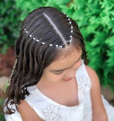 Cute Toddler Hairstyles, Cute Little Girl Hairstyles, Cute Hairstyles, Quince Hairstyles, Girl Hair Dos, Baddie Hairstyles, Aesthetic Hair, Hair Designs, Hair Looks