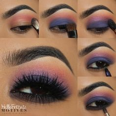 Haze--Eye shadow look